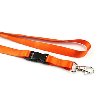 Fabric Lanyard 1.5cm width, fine thread, with scale hook + buckle (LY1502)