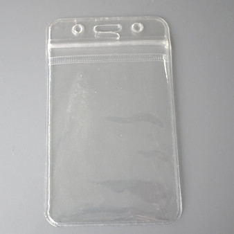 Flexible Plastic Card Holder for ID cards (CH003-V)