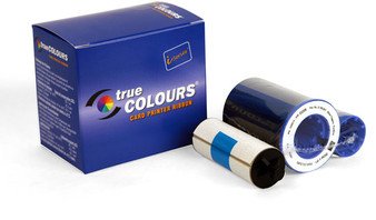 800015-440 Color Ribbon, 5 panels YMCKO 200images/roll