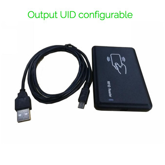 13.56Mhz RFID Reader, Output UID configurable,Support MIFARE Classic, DESFire EV1, Plus, NTAG