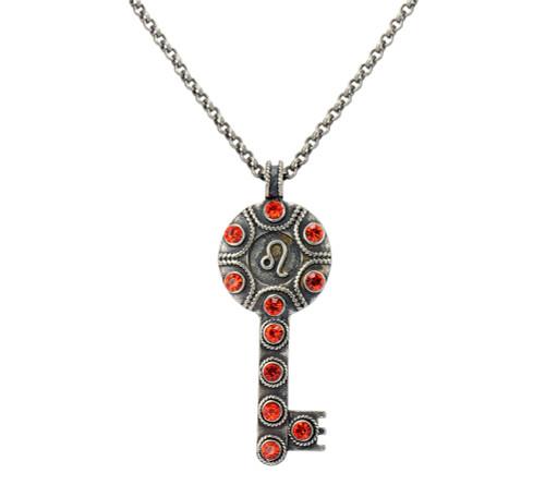 Key Zodiac Sign Necklace LEO