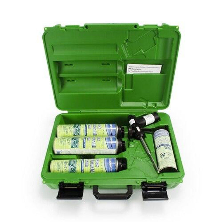 Foam Professional Waterfall Construction Kit 3 x Black 24 oz 1 x Gun cleaner and 1 x Pro Foam Gun