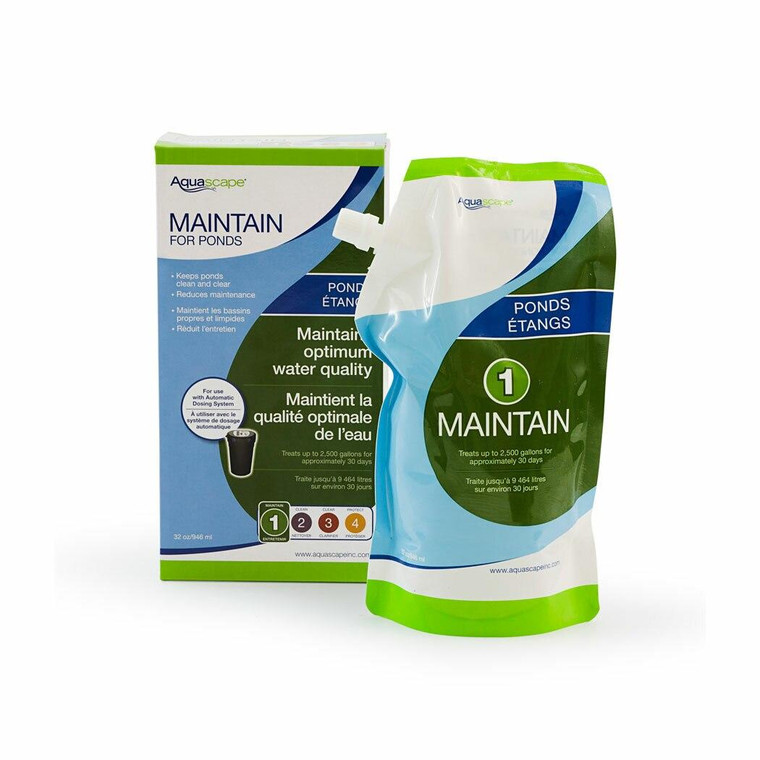 Automatic Dosing System - Maintain for Ponds 1 Litre Refill Pouch