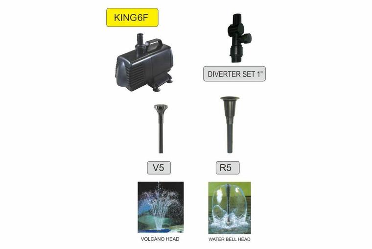 Resun King 6F Fountain Pump - 8500LPH