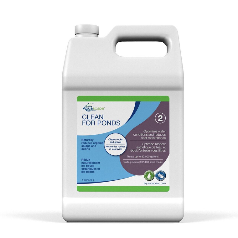 Clean for Ponds - 3.78 Litres