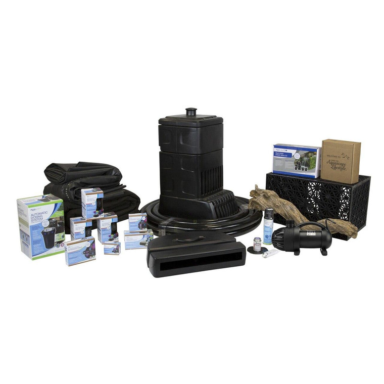 Large Deluxe Pondless Waterfall Kit - 8m Stream