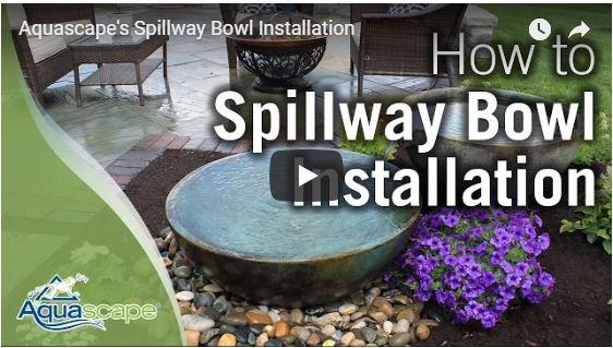 Spillway Bowl Installation
