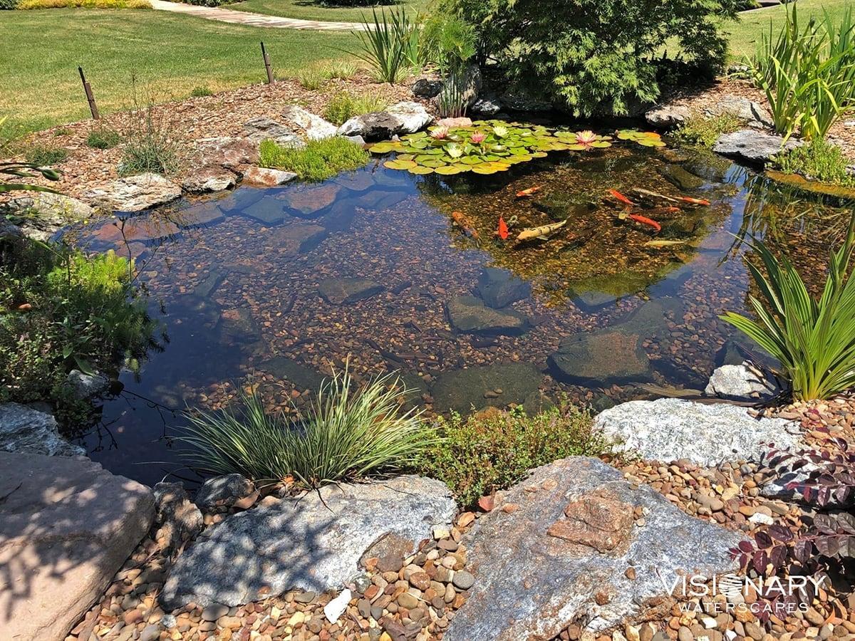 Environmentally friendly pond liner