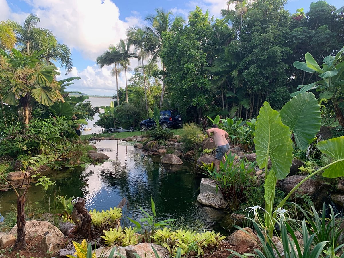 Recreation ponds and natural swimming pools