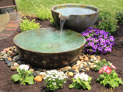 Water Fountains & Outdoor Water Features