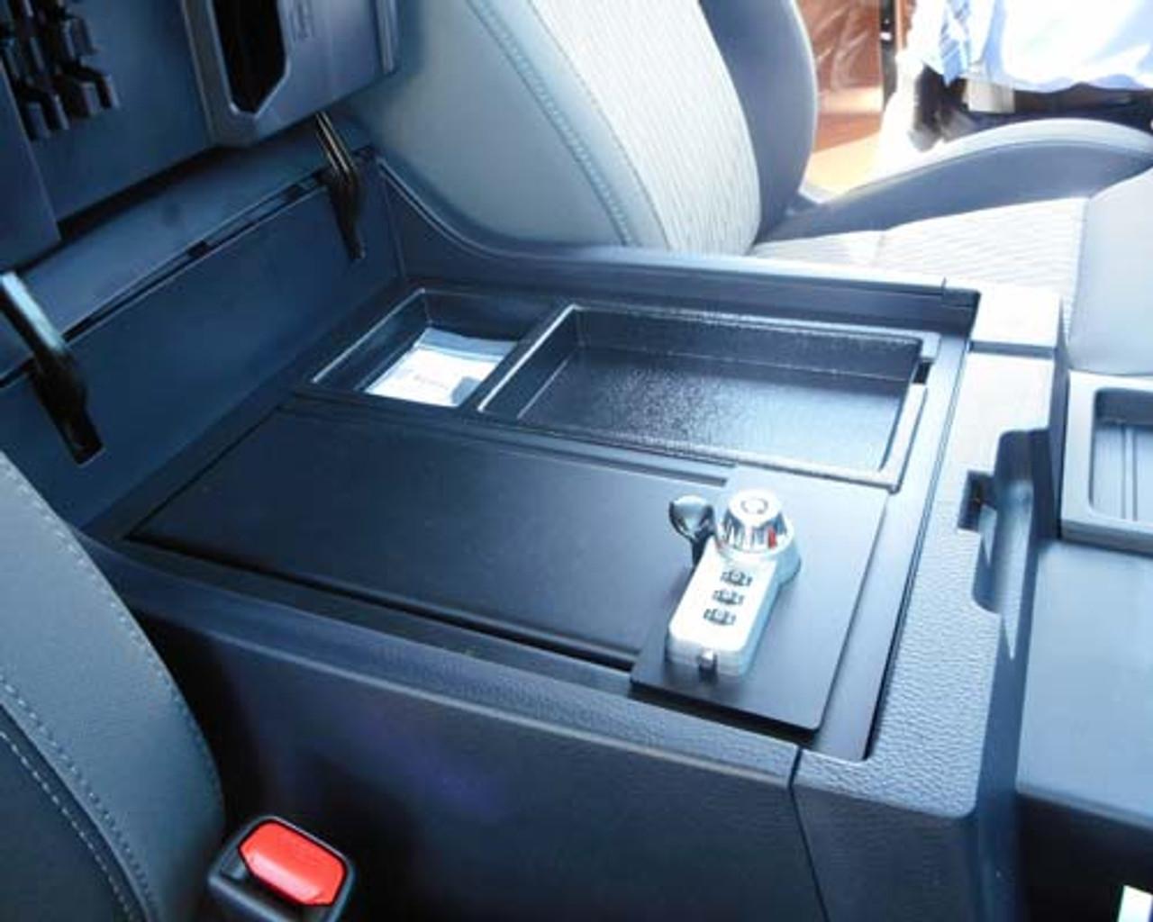 Toyota Tundra center console lock box (2014 - 2018)