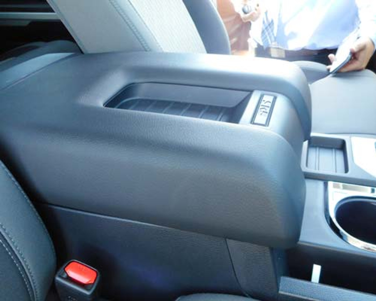 Toyota Tundra center console lock box (2014 - 2018)