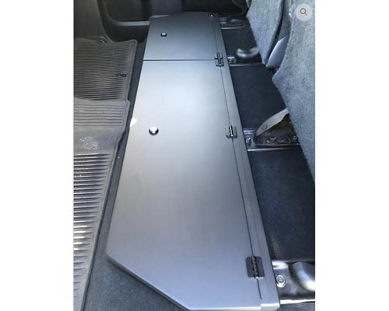 2014 - 2018 Toyota Tundra CrewMax Aluminum Long Box Under Seat Storage
