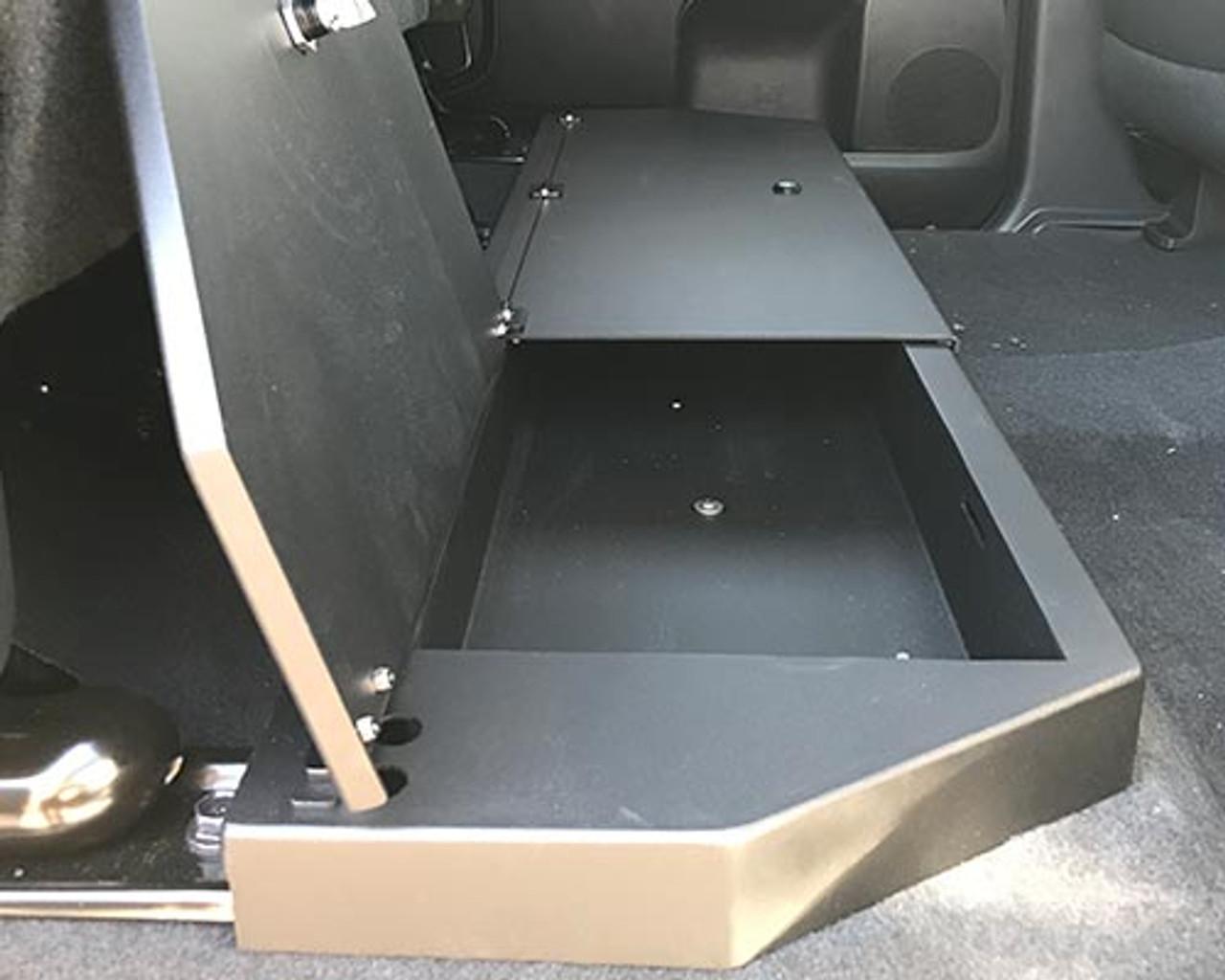 ESP Truck Accessories Plastic Under Seat Storage for 2014-2020 Toyota Tundra CrewMax
