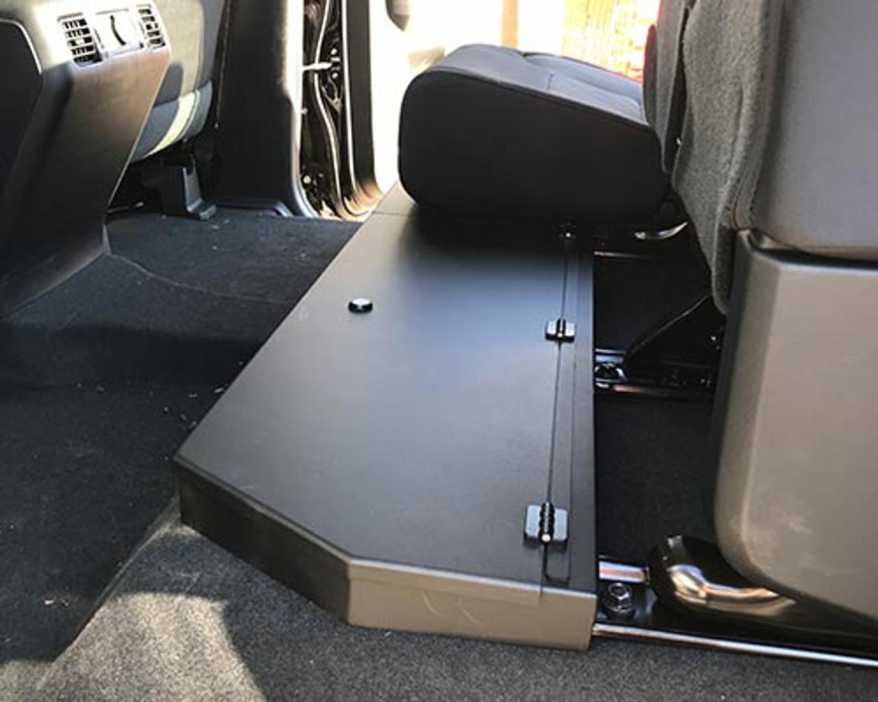 Toyota Tundra Crewmax Aluminum Long Box Under Seat Storage