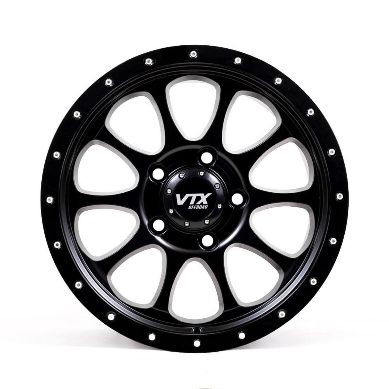 VTX Rogue - Satin Black 18x 9 in.