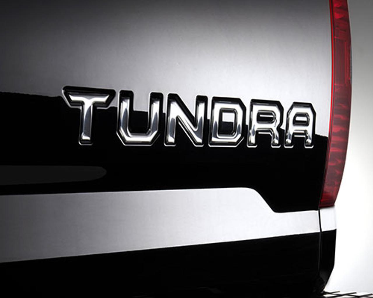 Tundra Tailgate Insert Badge - Chrome (PT948-34150-10)