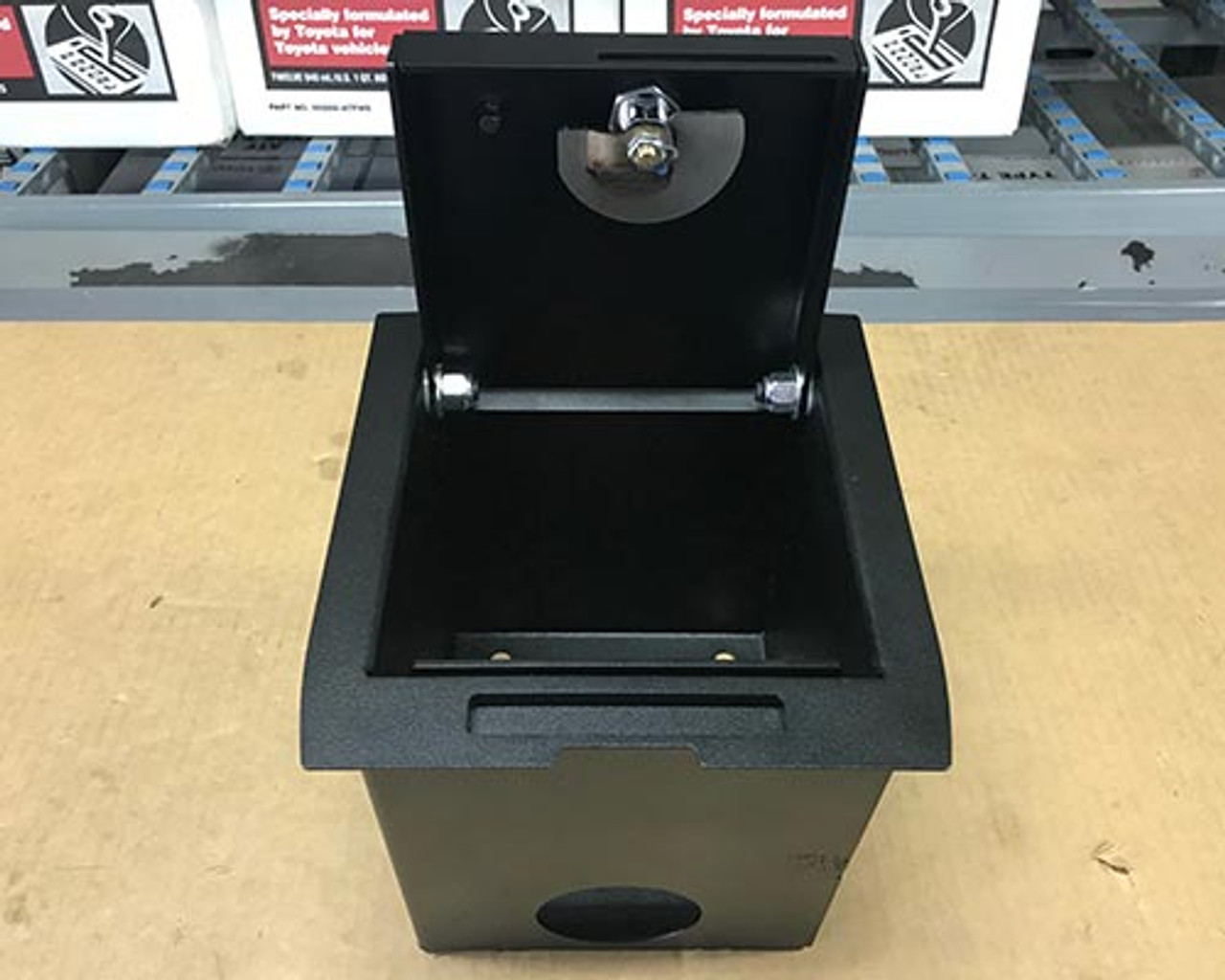 Toyota Tacoma center console lock box (2016 - 2018)