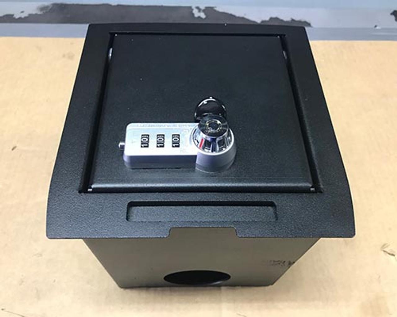 Toyota Tacoma center console lock box (2016 - 2018)