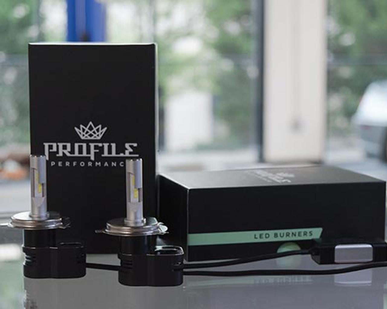 H4/9003 - Profile Peak LED Bulb kit (hi/low beam)