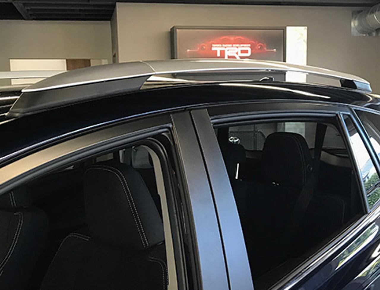Toyota RAV4 Aluminum Factory Style Silver Roof Rack Side Rails