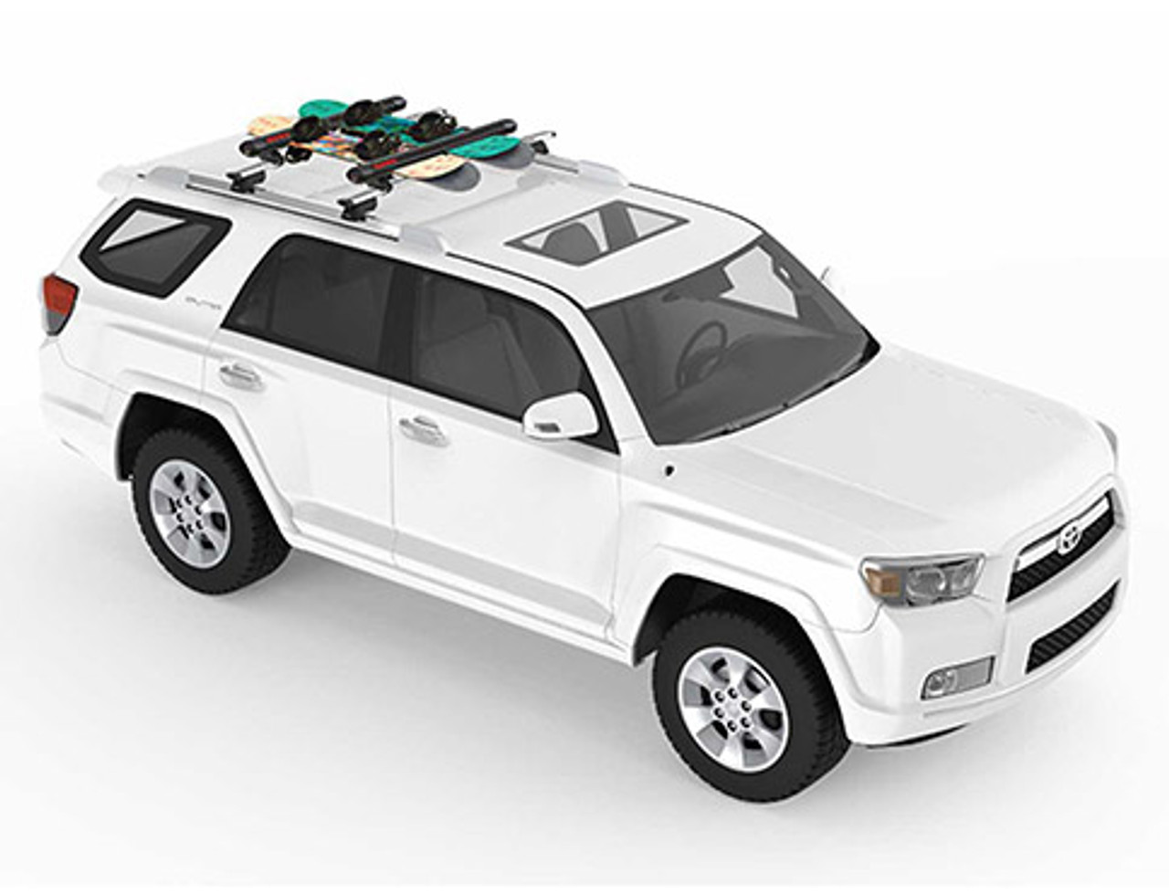 Yakima FatCat 6 EVO - Ski and Snowboard mounts for Toyota vehicles