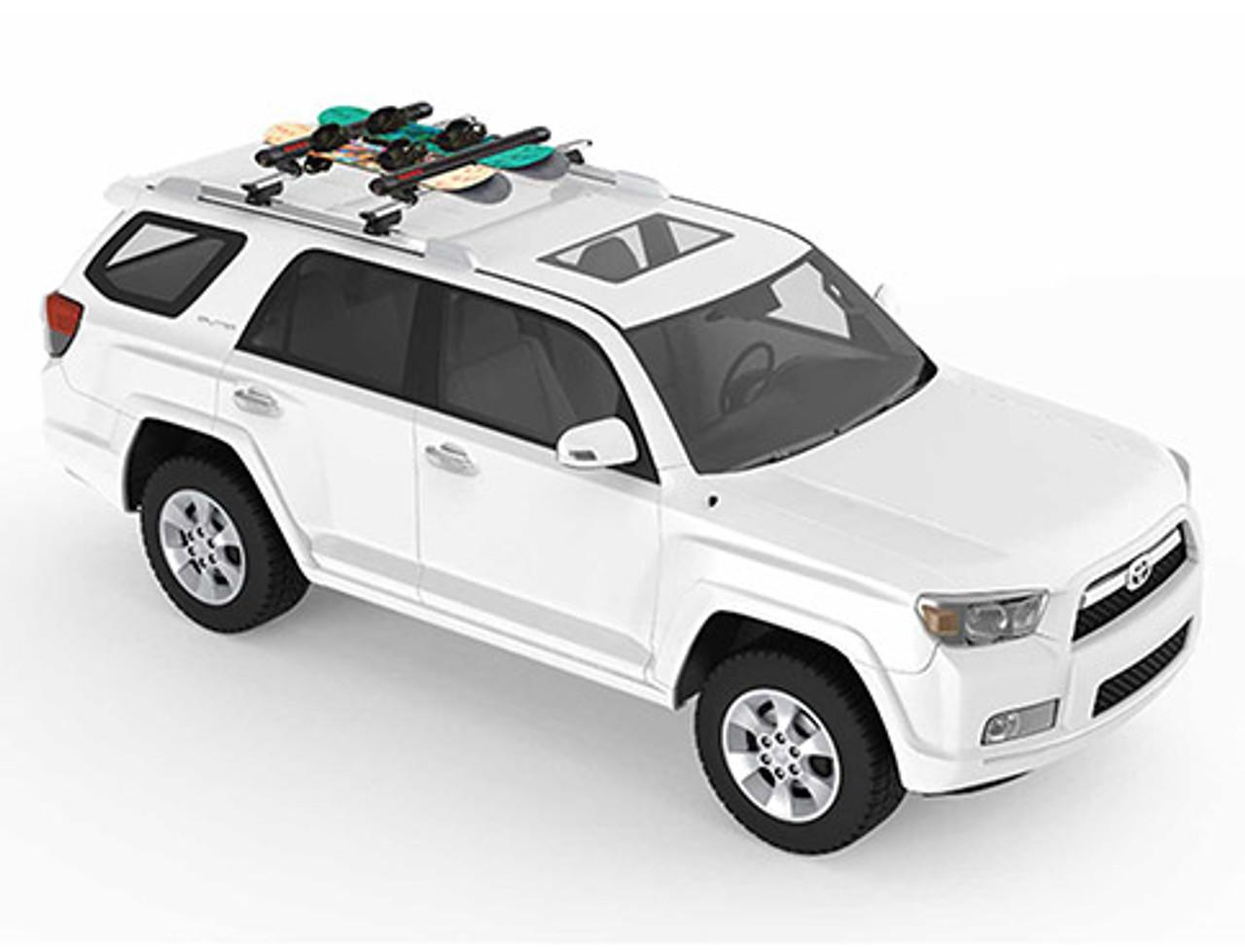 Yakima FatCat 6 EVO - Ski and Snowboard mounts for Toyota vehicles