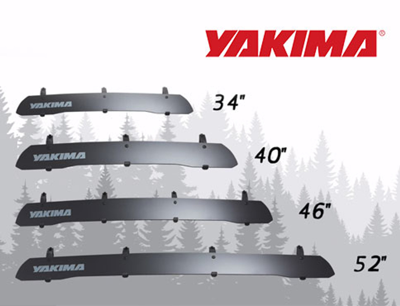 Yakima Windshield Fairing / Wind Deflector Available in 4 sizes for Toyota