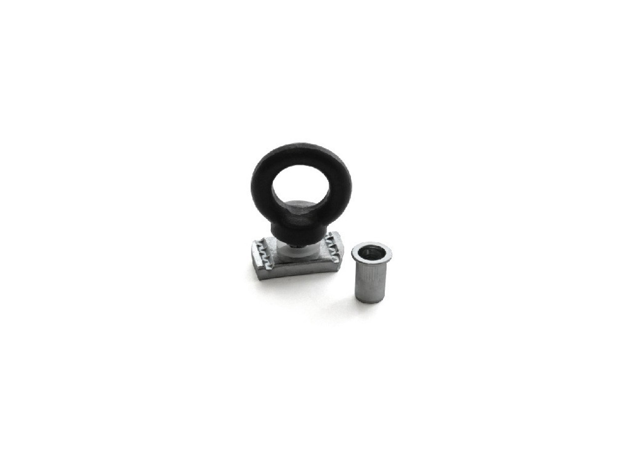 BLACK TIE DOWN RINGS MALE - BY FRONT RUNNER