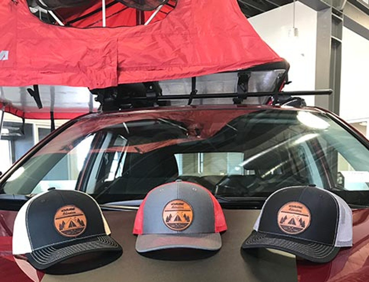 Cabe Adventure Leather Patch Hat