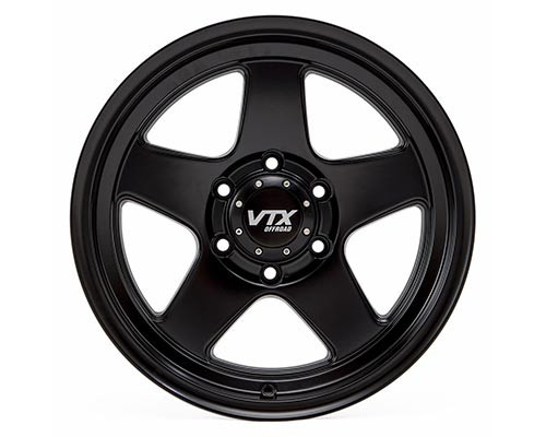 Outlaw - Satin Black 17 x 8.5 in (Set of 4)