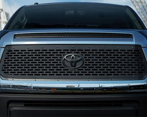 2014 - 2017  Toyota Tundra predator style laser-cut front grille .