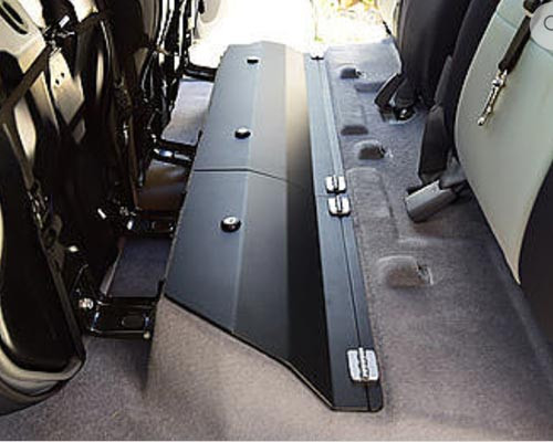 Toyota Tacoma Double Cab Steel/Aluminum Rear Under Seat Storage Unit