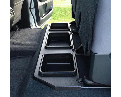 2014-2018 Toyota Tundra Crewmax Plastic Rear Under Seat Storage Unit
