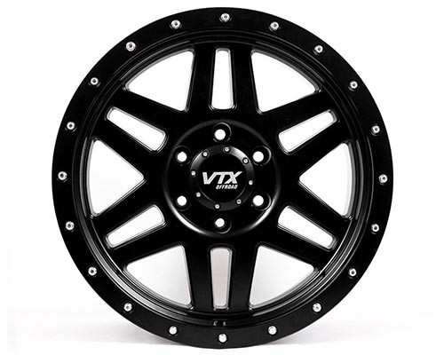 VTX Viper - Satin Black 18 x 9 in.