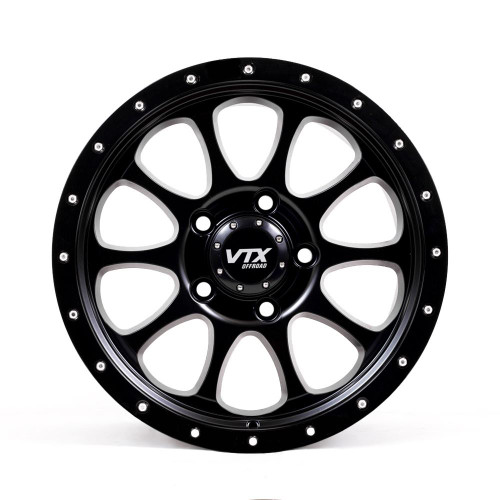 VTX Rogue - Satin Black 18x 9 in.