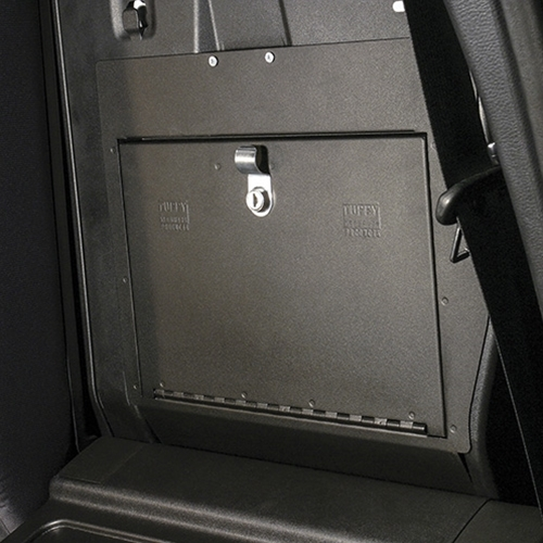 Tacoma Double Cab Security Cubby Lock Box cover