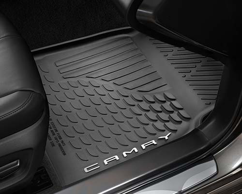 2018 Camry All Weather Floor Liners - Black (PT908-03180-20)