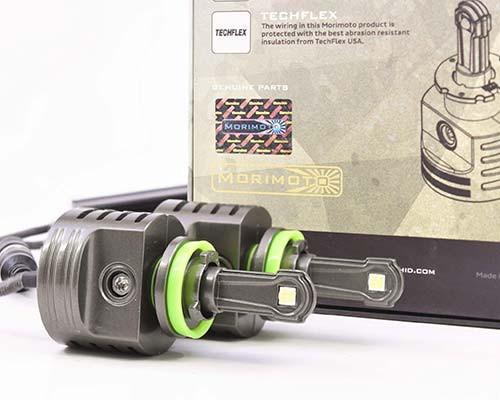 H11 bulb replacement - Morimoto LED 2Stroke headlight / foglight kit