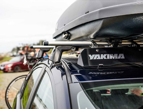 Yakima Jetstream BLACK Roof Rack Crossbars (set of 2)