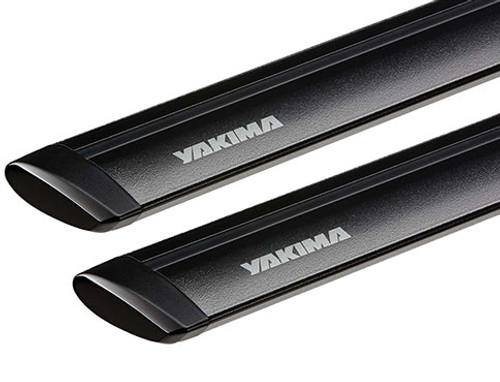Yakima Jetstream BLACK Roof Rack Crossbars (set of 2)
