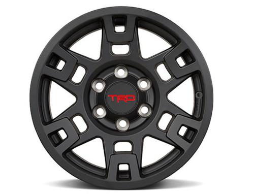 TRD 17-In. Matte Black Alloy Wheel Set