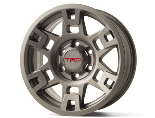 PTR20-35110-GR Matte Gray TRD Alloy Wheel