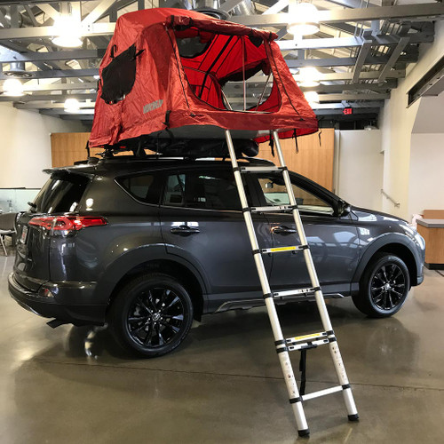 Yakima Skyrise Tent (small) installed on a 2018 Rav4 Adventure