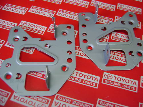 Original Toyota Corolla gts/sr5 radio brackets for your ae86 coupe or hatchback