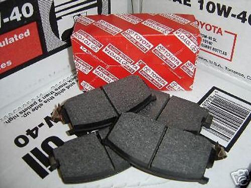Corolla GTS front brake pads
