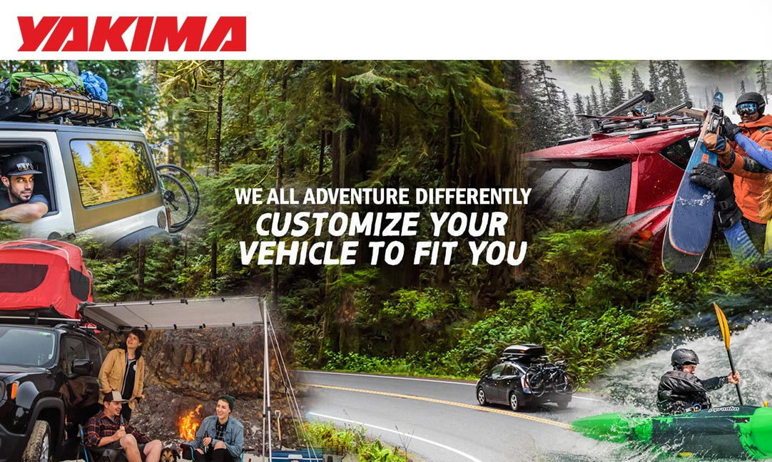 Yakima Products now available at Cabe Toyota / Cabe Performance