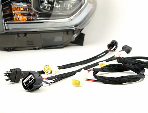 tundra led wire harness and drl conversion kit (2007 2017) toyota wiring color codes 2014 tundra wiring harness wiring diagram
