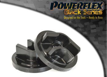 Rear Lower Engine Mount Insert (Round Centre) PFF80-1221BLK