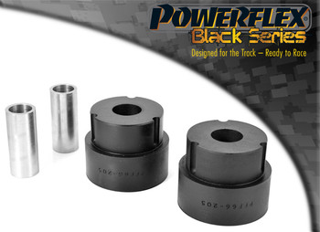 Front Wishbone Rear Bush PFF66-205BLK